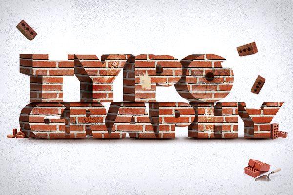 typography-brick