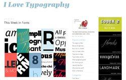 ilovetypography