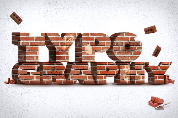 typography-brick