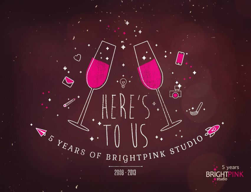 Happy Birthday, BrightPink Studio!