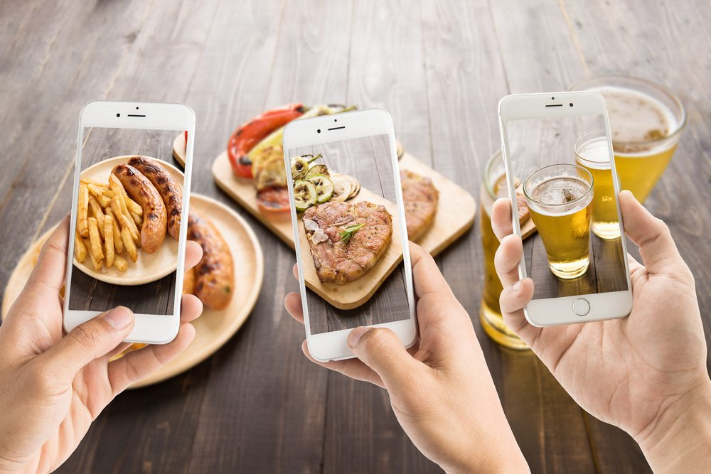 Post your products online by using Instagram in your restaurant marketing plan