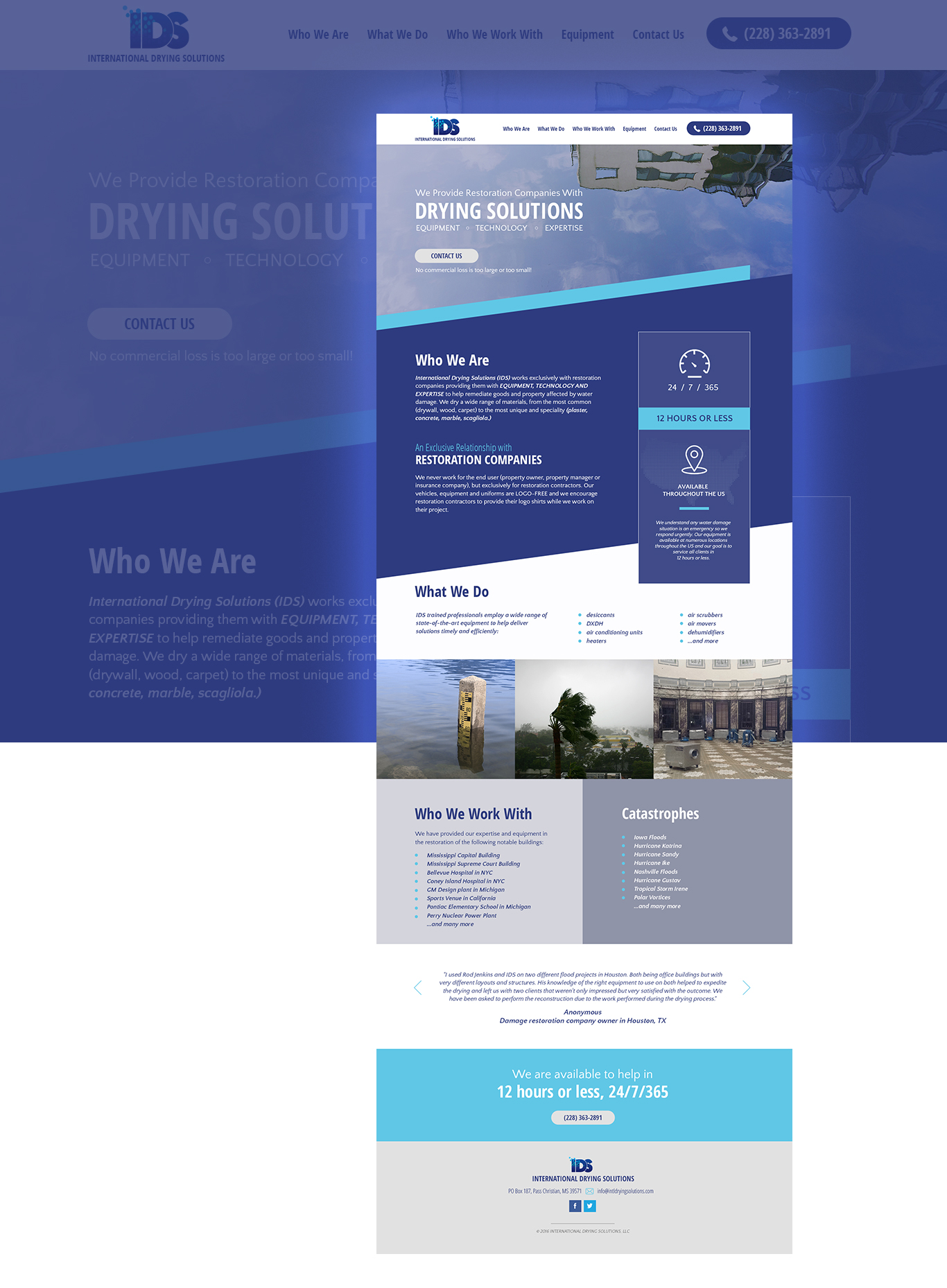 Small service website business to business