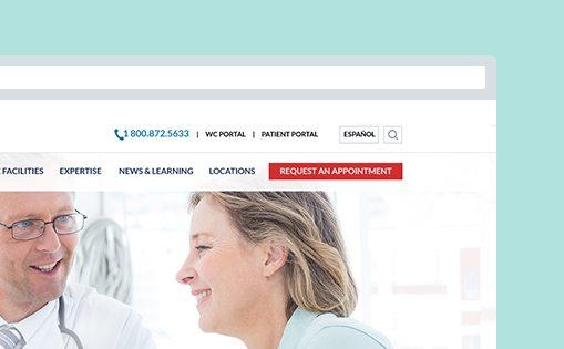 Fort Lauderdale web design for medical facility