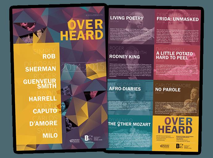 Broward College poster print design