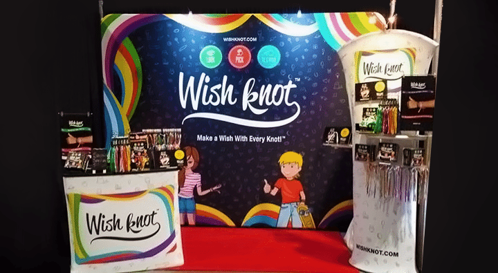 Wish Knot Tradeshow Booth Display Design