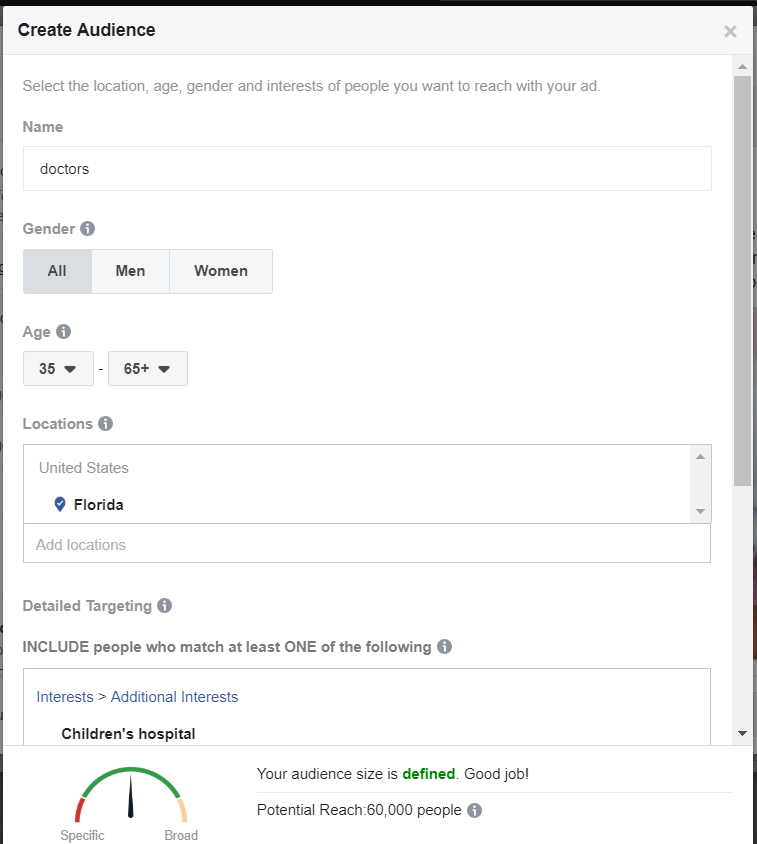 Facebook boost post new audience