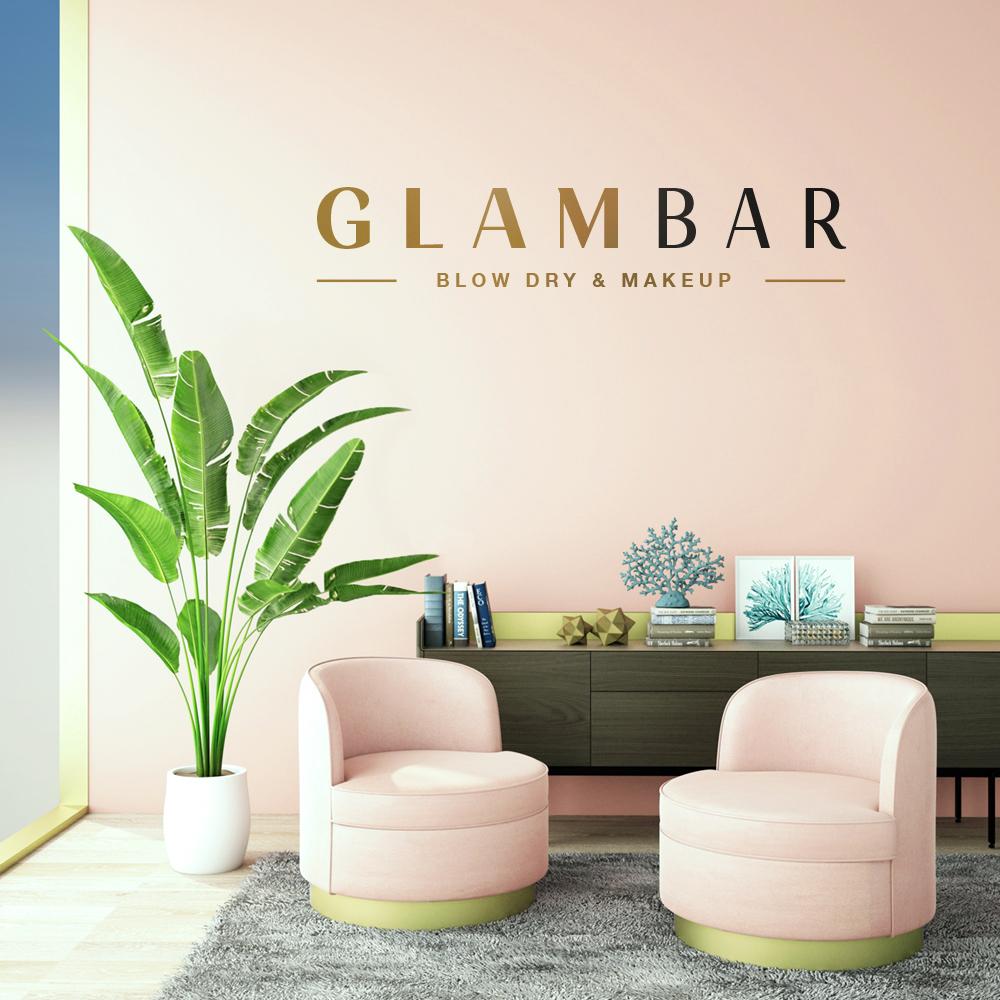 Glambar logo design in Coral Springs