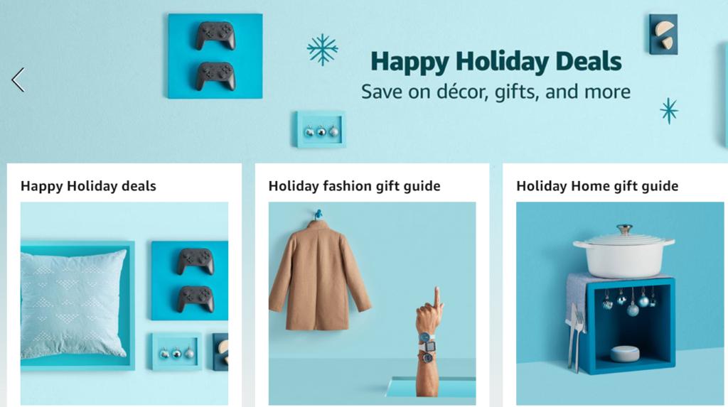 Amazon holiday marketing